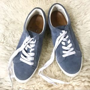 FRYE Kerry Suede Low Top Shoe